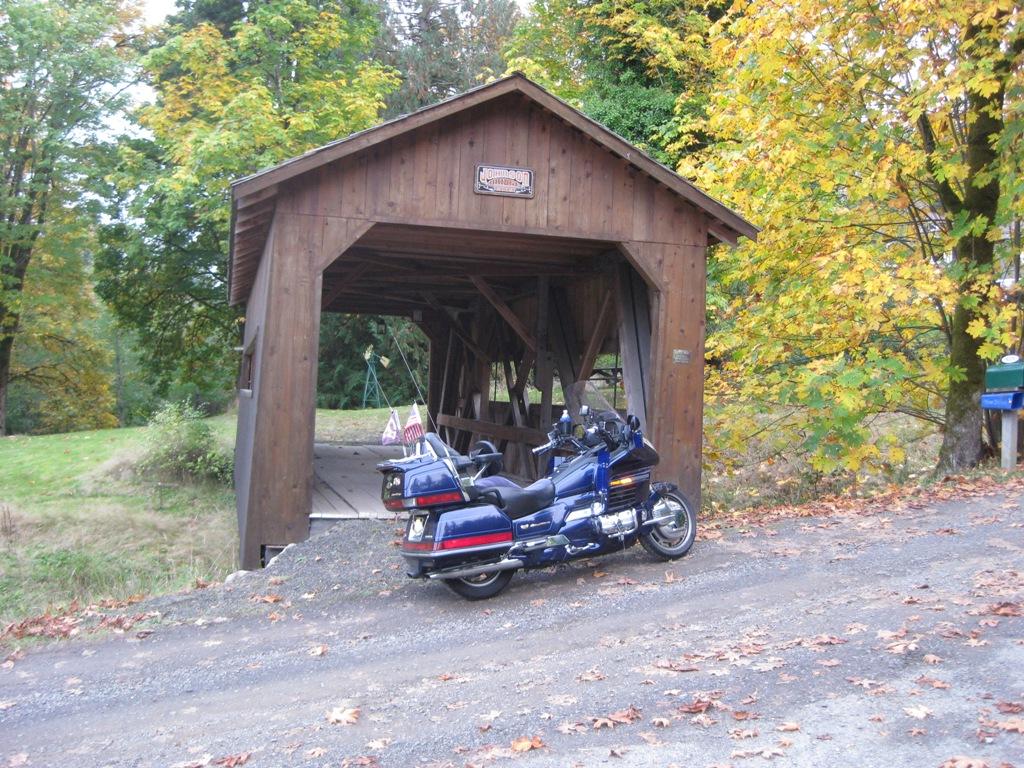 Photo scavenger hunt page 20 steve saunders goldwing for Covered bridge design plans